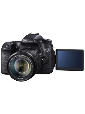 Зеркальный фотоаппарат Canon EOS 70D kit (18-135mm IS STM)