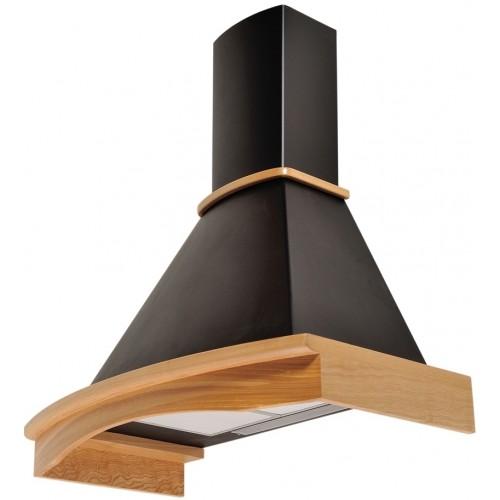 Вытяжка купольная/настенная Pyramida R 90 black (uncoloured)