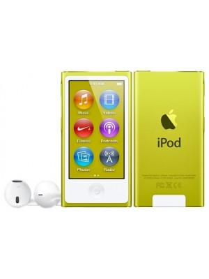 MP3 плеер (Flash) Apple iPod nano 7Gen 16Gb Yellow (MD476)
