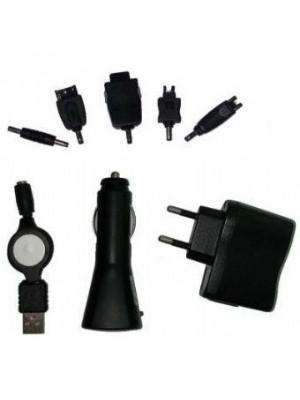 Автомобильное/сетевое/USB ЗУ для мобильных телефонов Gembird MP3A-SET2T