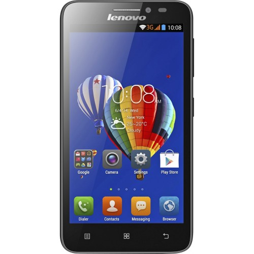 Смартфон Lenovo A606 (Black)