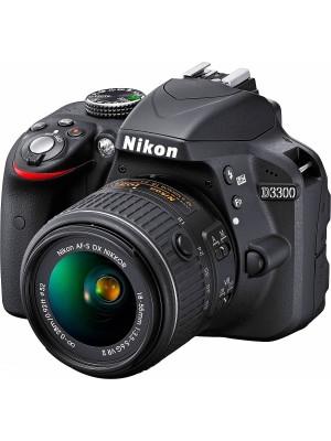 Зеркальный фотоаппарат Nikon D3300 kit (18-55mm 55-200mm VR)