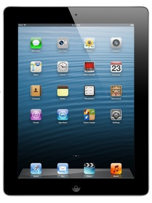 Планшет Apple iPad 4 Wi-Fi + LTE 128 GB Black (ME406, ME400)