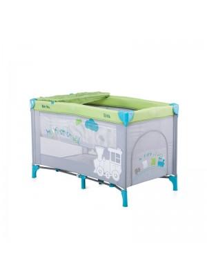 Кровать-манеж Chipolino Sienna SIS0152GR grey