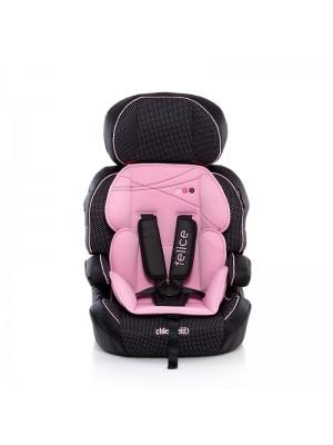 Автокресло Chipolino 01503BP Felice гр.1/2/3 (9-36кг.) baby pink