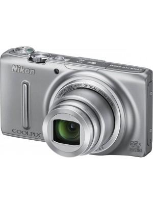 Компактный фотоаппарат Nikon CoolPix S9500 Silver
