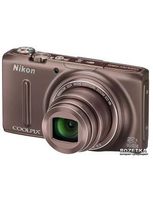 Фотоаппарат Nikon Coolpix S9500 Bronze