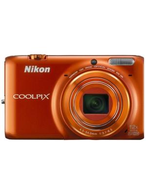 Компактный фотоаппарат Nikon Coolpix S6500 Orange