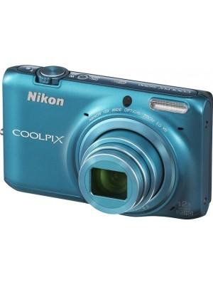 Компактный фотоаппарат Nikon Coolpix S6500 Blue