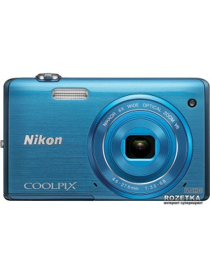 Фотоаппараты Nikon Coolpix S5200 Blue