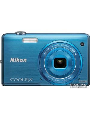 Фотоаппараты Nikon Coolpix S5200 Blue
