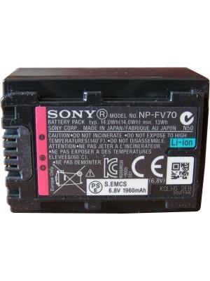 Аккумулятор Аккумулятор типа Sony NP-FV70