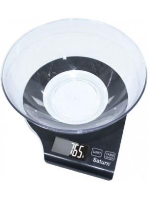 Весы кухонные SATURN ST-KS7803 Black