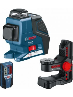Лазерный нивелир Bosch GLL 2-80 P Professional + BM1 + LR2