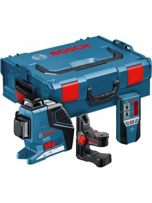 Nivelator cu laser Bosch GLL 3-80 P Professional + BM1 + LR2 (L-Boxx)