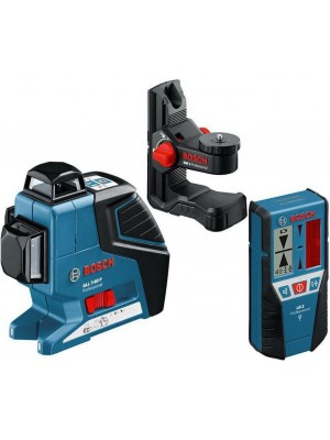 Nivelator cu laser Bosch GLL 3-80 P Professional + BM1 + RL2