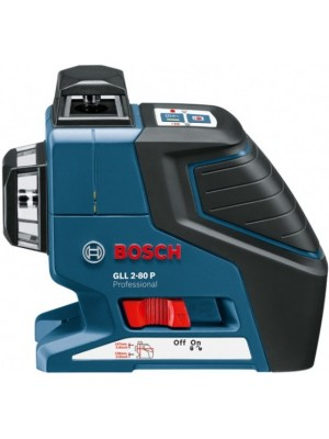 Nivelator cu laser Bosch GLL 2-80 P Professional (L-Boxx)