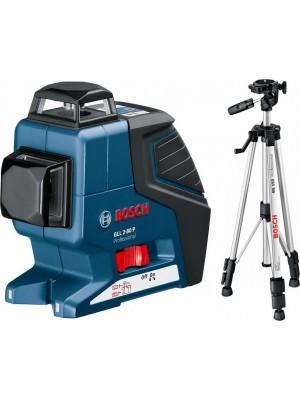 Nivelator cu laser Bosch GLL 2-80 P Professional + BS 150 (L-Boxx)