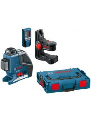 Nivelator cu laser Bosch GLL 2-80 P Professional + BM1 + LR2 L-Boxx (0601063209)