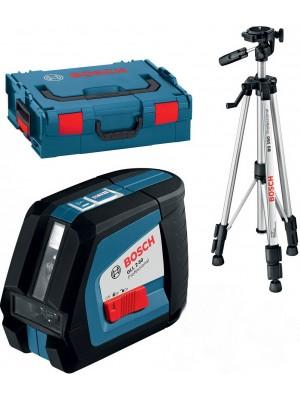 Лазерный нивелир Bosch GLL 2-50 Professional + BS 150 (L-Boxx)