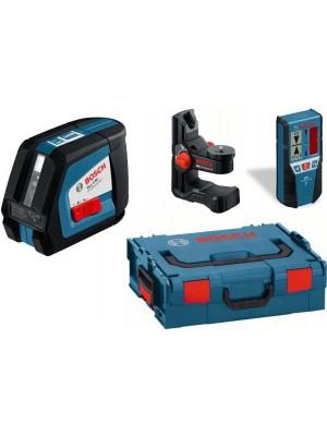 Лазерный нивелир Bosch GLL 2-50 Professional + BM1 + LR2 (L-Boxx)